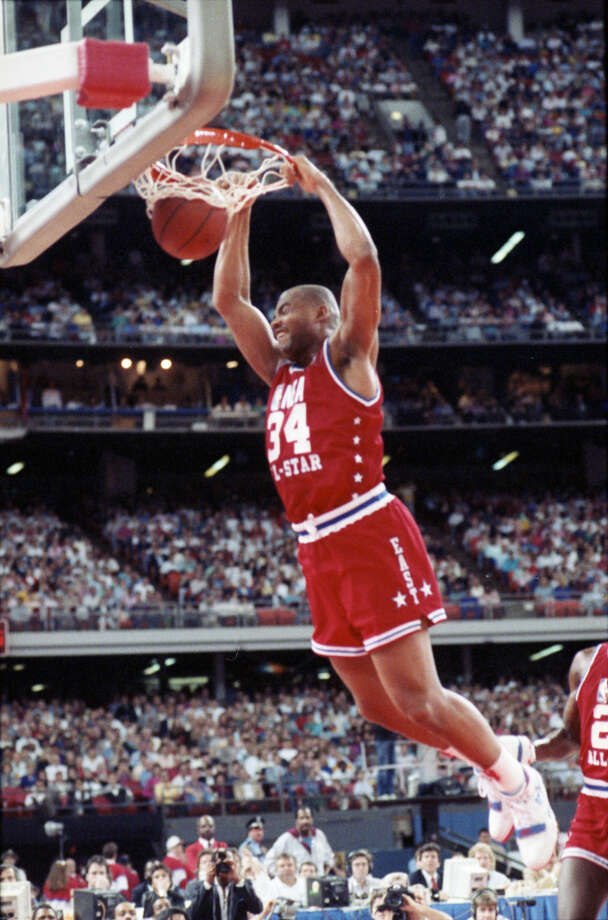 Barkley was an 11-time All-Star and was the MVP of the 1991 game in Charlotte. Photo: Howard Castleberry, Houston Chronicle / Houston Chronicle