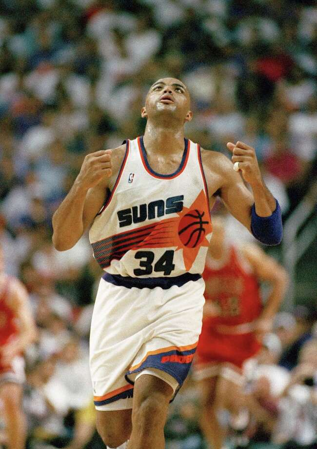 With little playoff success in eight seasons with the Sixers, Barkley's prayers were answered as he was traded to the Phoenix Suns in a four-player deal.