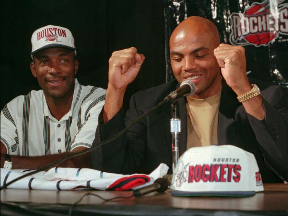 After the Rockets second championship, they acquired Barkley in a four-player deal. Most notably shipped away were Sam Cassell and Robert Horry.