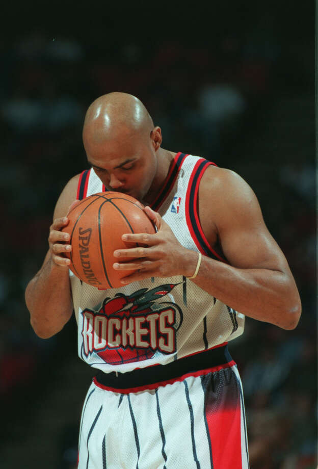Barkley recorded a career high in rebounds with 33 in a Nov. 2, 1996 win over the Suns. Photo: Smiley N. Pool, Houston Chronicle / Houston Chronicle