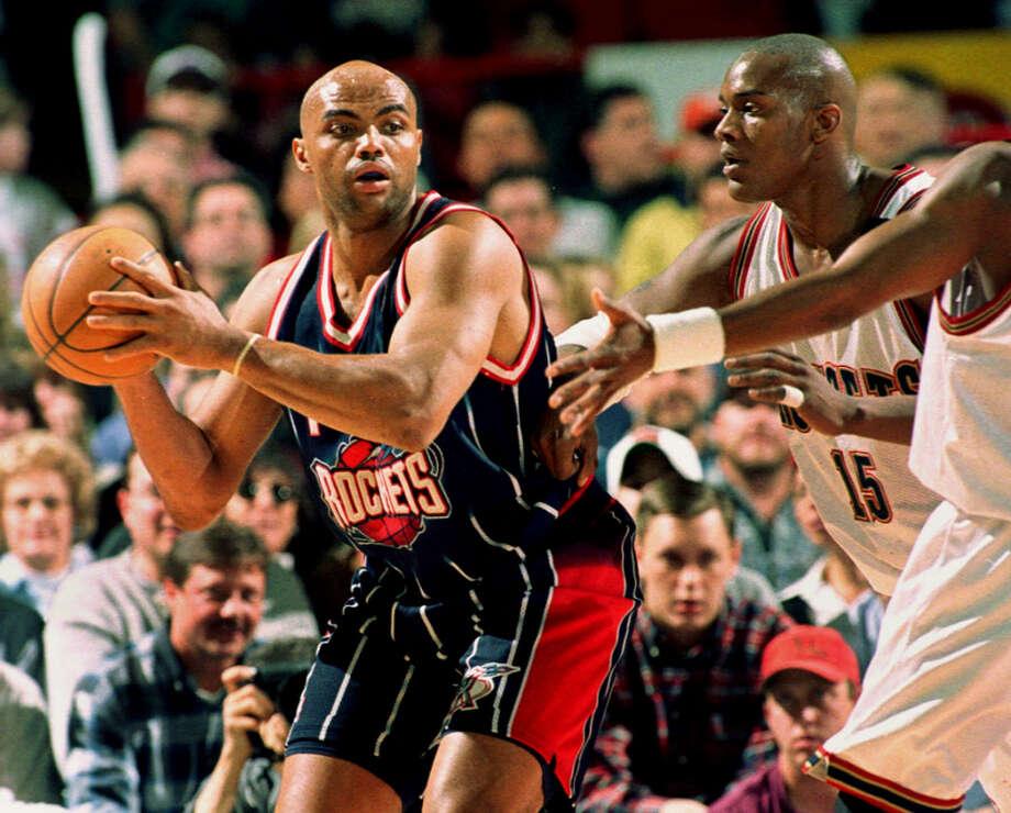 Barkley's highest scoring performance in the 1997-1998 season was a 43-point output on Nov. 29 against the Golden State Warriors. Photo: DAVID ZALUBOWSKI, AP / AP