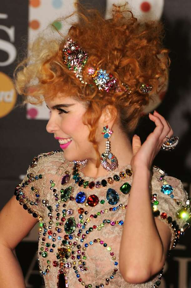 LONDON, ENGLAND - FEBRUARY 20:  Paloma Faith attends the Brit Awards 2013 at the 02 Arena on February 20, 2013 in London, England.  (Photo by Eamonn McCormack/Getty Images) Photo: Eamonn McCormack, Getty Images