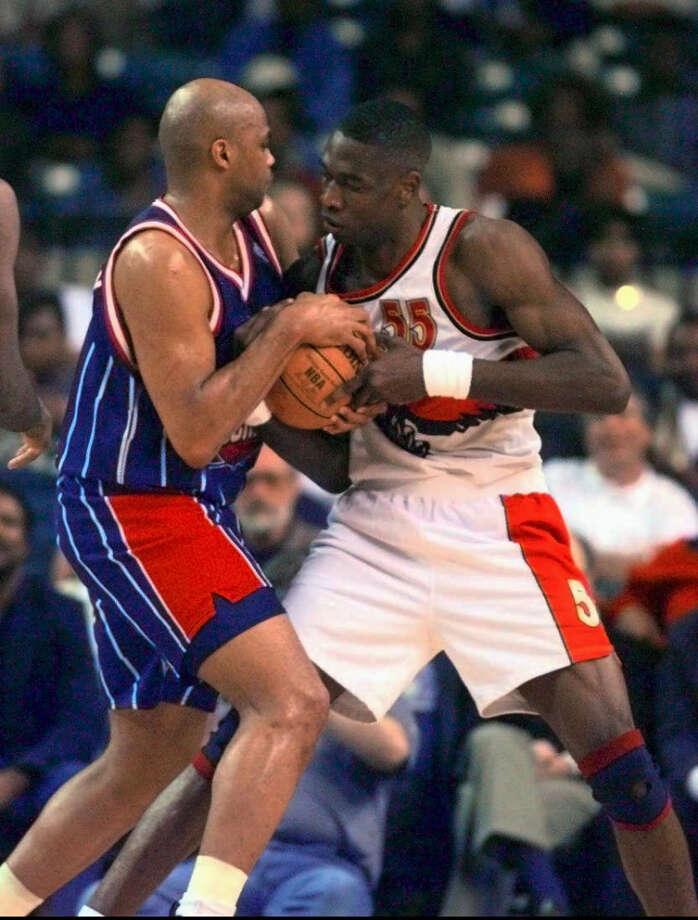 Barkley finished his career with a total of 12,546 rebounds. He is currently No. 18 on the all-time NBA list. Photo: DAVID TULIS, AP / ATLANTA JOURNAL CONSTITUTION