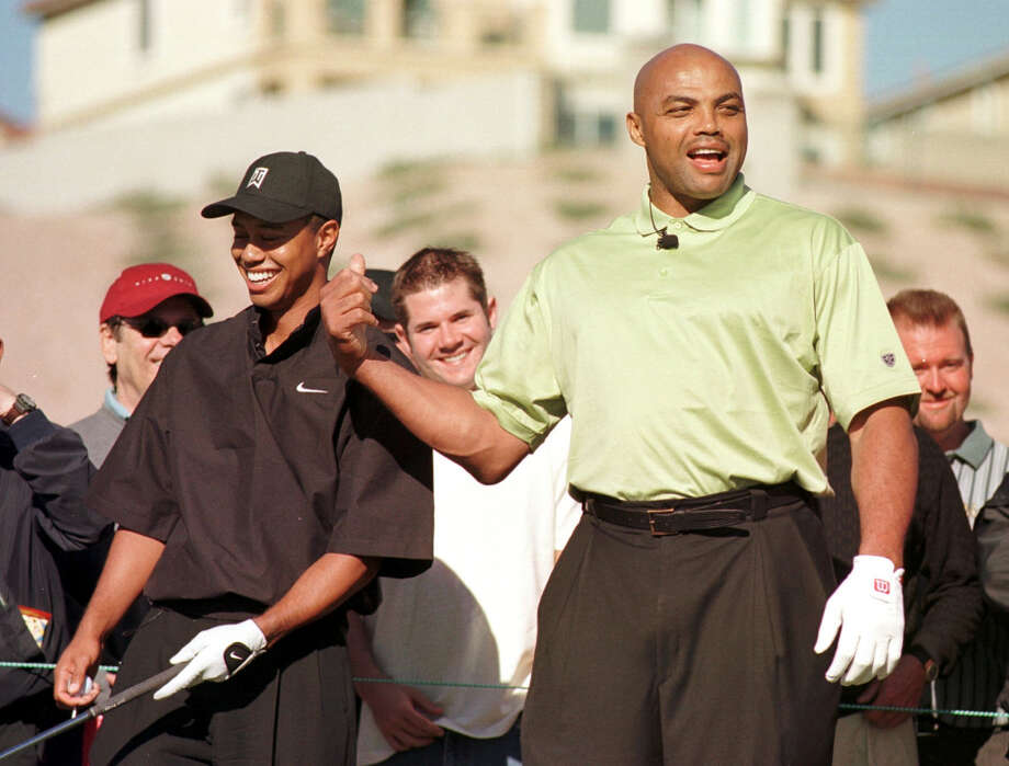 Add golfer Tiger Woods to the list of Barkley's celebrity friends. Photo: LORI CAIN, AP / AP