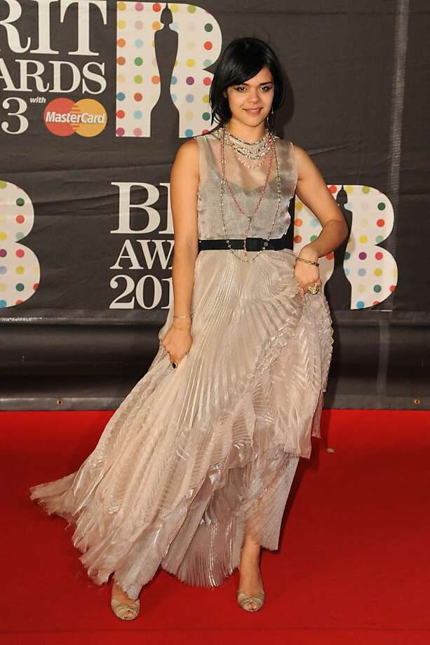 LONDON, ENGLAND - FEBRUARY 20: Natasha Khan of Bat For Lashes attends the Brit Awards 2013 at the 02 Arena on February 20, 2013 in London, England.  (Photo by Eamonn McCormack/Getty Images) Photo: Eamonn McCormack, Getty Images