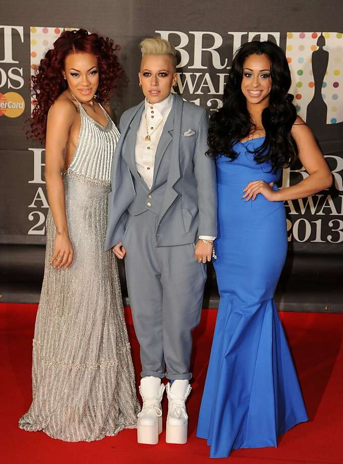 LONDON, ENGLAND - FEBRUARY 20:  Karis Anderson, Courtney Rumbold and Alex Buggs of Stooshe attend the Brit Awards 2013 at the 02 Arena on February 20, 2013 in London, England.  (Photo by Eamonn McCormack/Getty Images) Photo: Eamonn McCormack, Getty Images