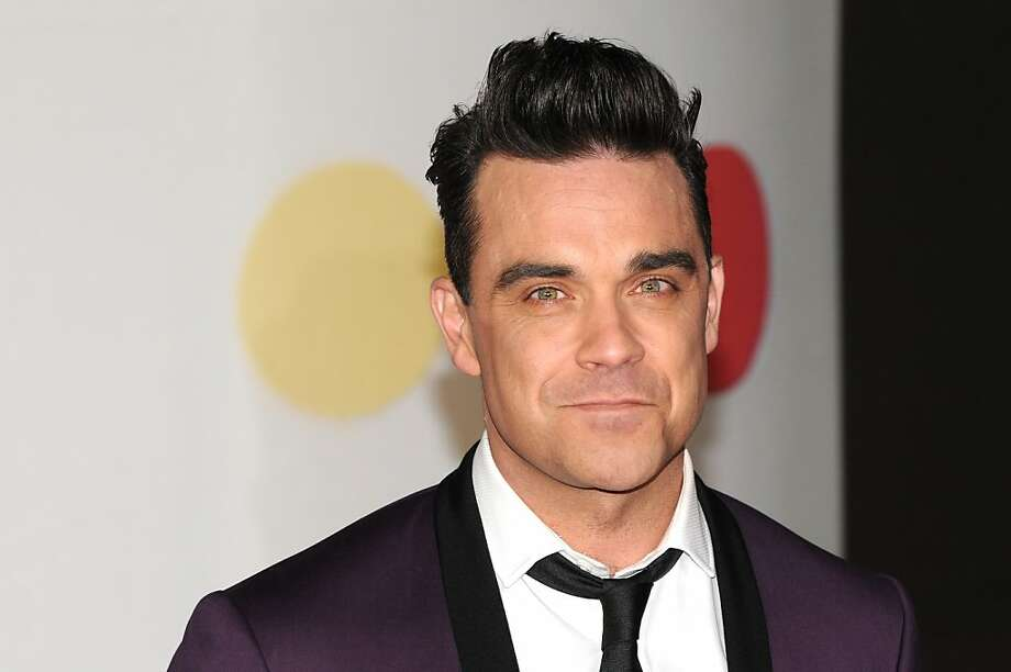 LONDON, ENGLAND - FEBRUARY 20:  Robbie Williams attends the Brit Awards 2013 at the 02 Arena on February 20, 2013 in London, England.  (Photo by Eamonn McCormack/Getty Images) Photo: Eamonn McCormack, Getty Images