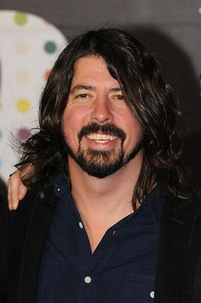 LONDON, ENGLAND - FEBRUARY 20:  Dave Grohl attends the Brit Awards 2013 at the 02 Arena on February