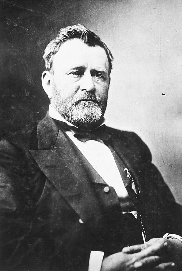 Ulysses S. Grant, Civil War hero and 18th president. Photo: Courtesy Of The National Archive