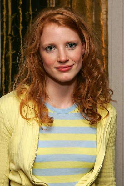 We start with 2013's Best Actress/Best Actor nominees. Here's Jessica Chastain in 2006.