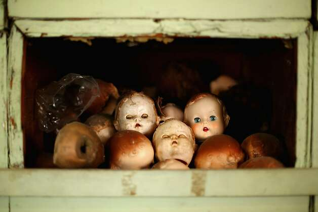 Pick one out from the 'expired patients' bin: Sydney's Original Doll Hospital in Bexley, Australia, is celebrating 100 years of treating all types of ailing dolls and teddy bears. It's the place to go if Dolly needs a new head. Photo: Mark Kolbe, Getty Images