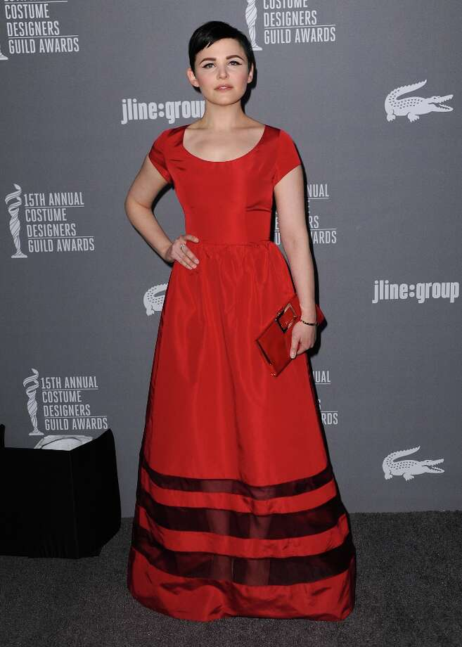 Ginnifer Goodwin arrives at the 15th Annual Costume Designers Guild Awards at The Beverly Hilton Hotel on Tuesday, Feb. 19, 2013 in Beverly Hills. (Photo by Jordan Strauss/Invision/AP) Photo: Jordan Strauss, Associated Press / Invision