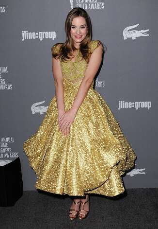 Christa B. Allen arrives at the 15th Annual Costume Designers Guild Awards at The Beverly Hilton Hotel on Tuesday, Feb. 19, 2013 in Beverly Hills. (Photo by Jordan Strauss/Invision/AP) Photo: Jordan Strauss, Associated Press / Invision