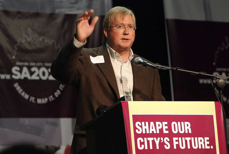 The dive in the stock price means Rackspace co-founder and Chairman Graham Weston's 19.4 million shares in the company lost $287 million in value, leaving him with $1.17 billion worth of stock. Photo: San Antonio Express-News / File Photo
