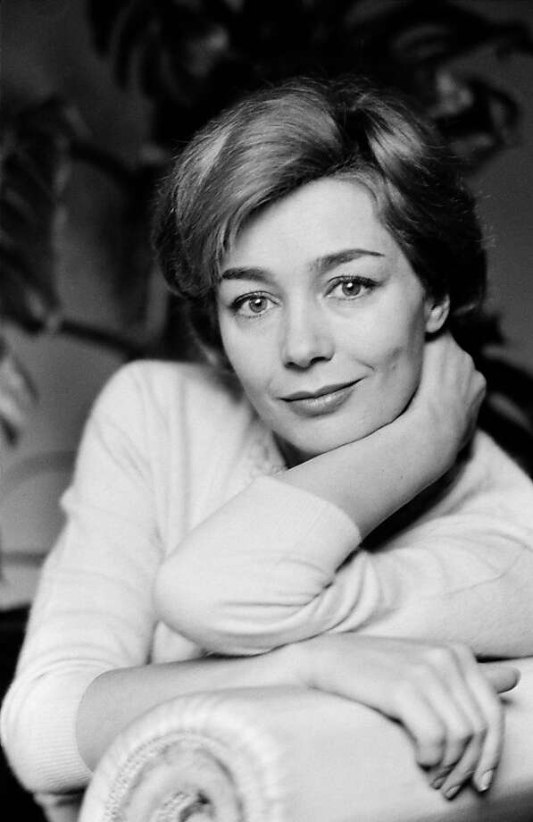 Emmanuelle Riva, 1960. Photo: Gamma, Gamma-Keystone Via Getty Images