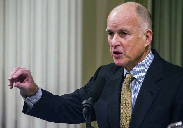 A reader criticizes California Gov. Jerry Brown, who recently condemned Texas Gov. Rick Perry for trying to lure businesses from California to Texas. Photo: Ken James, Bloomberg