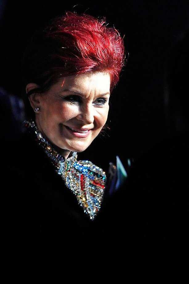LONDON, ENGLAND - FEBRUARY 20:  Sharon Osbourne on stage during the Brit Awards 2013 at the 02 Arena on February 20, 2013 in London, England.  (Photo by Matt Kent/Getty Images) Photo: Matt Kent, Getty Images