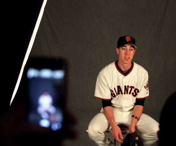 San Francisco Giants pitcher Tim Lincecum is photographed during photo day at spring training Wednesday, Feb. 20, 2013, in Scottsdale, Ariz. Photo: Lance Iversen, The Chronicle / ONLINE_YES