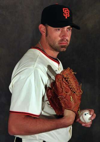 San Francisco Giants pitcher Jeremy Affeldt poses for photos during photo day at spring training Wednesday, Feb. 20, 2013, in Scottsdale, Ariz. Photo: Lance Iversen, The Chronicle / ONLINE_YES