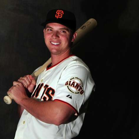 San Francisco Giants Gary Brown poses for photos during photo day at spring training Wednesday, Feb. 20, 2013, in Scottsdale, Ariz. Photo: Lance Iversen, The Chronicle / ONLINE_YES