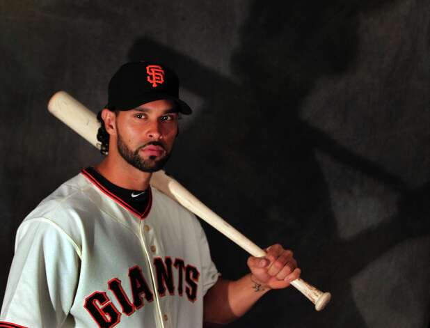 San Francisco Giants Angel Pagan poses for photos during photo day at spring training Wednesday, Feb. 20, 2013, in Scottsdale, Ariz. Photo: Lance Iversen, The Chronicle / ONLINE_YES