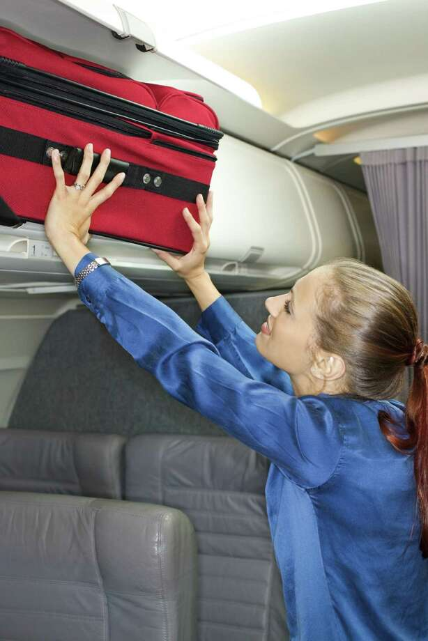7. Bin mis-packing. Your suitcase goes in front-to-back (or back-to-front), not side-to-side. Here, let us show you. Photo: Thinkstock, Getty Images/Comstock Images / Comstock Images