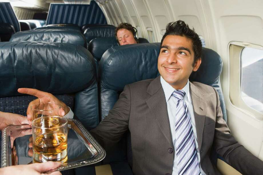 1. Flying while drunk. The alleged slapper, Joe Rickey Hundley, 60, of Hayden Idaho (not this guy), reportedly appeared intoxicated. We've never seen a drunken assault on board an airplane, but we have witnessed some alcohol-fueled misbehavior. Photo: DreamPictures/Shannon Faulk, Getty Images/Blend Images / Blend Images