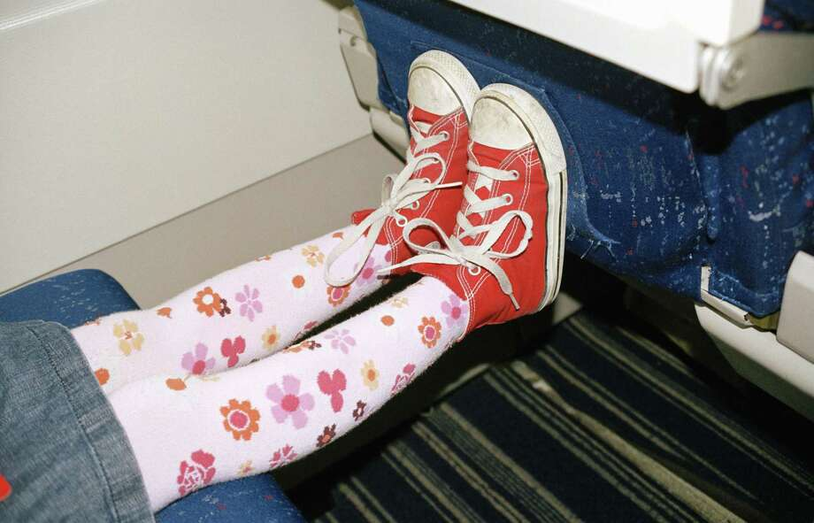 3. Bad parenting. That said, parents do have a responsibility to try to keep their children occupied and as civil as possible. You should notice, for instance, if you kid is kicking the seat in front of her, and put a stop to it. Photo: Catapult, Getty Images/fStop / fStop
