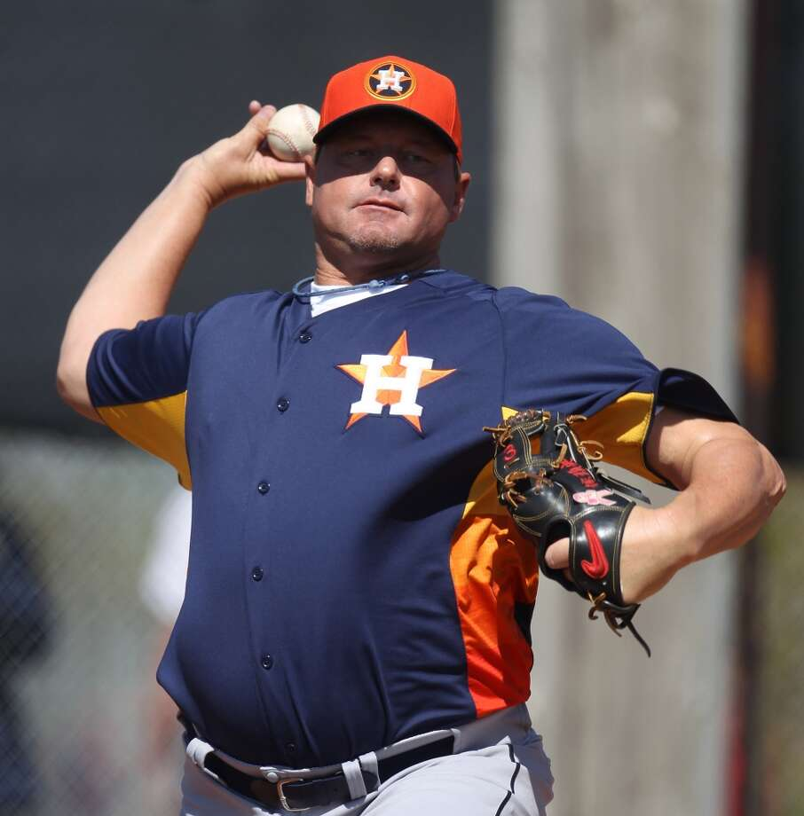 Roger Clemens played for four major league teams and made it to 11 All-Star Games. In 1986 he was the American League MVP. He went to Spring Woods High School and later played at the University of Texas.