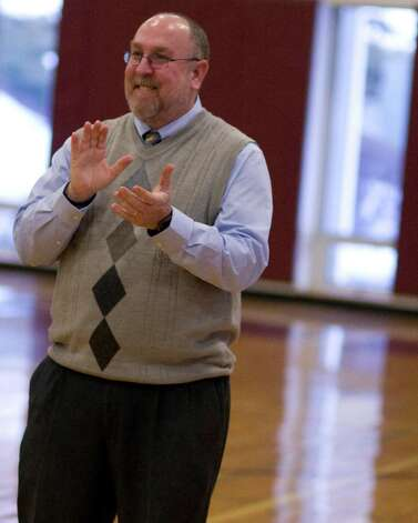 Wooster School coach Dave MacNutt. Photo: Barry Horn / The News-Times Freelance