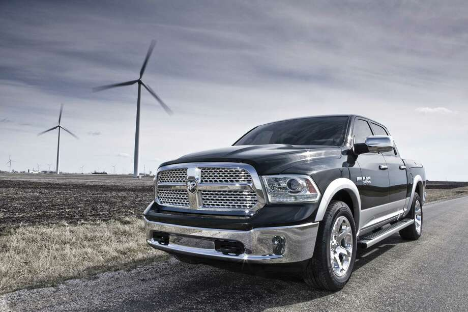 The 2013 Ram 1500 offers an efficient new V-6 engine with an eight-speed automatic transmission, a new interior and other significant refinements. Photo: Chrysler Group