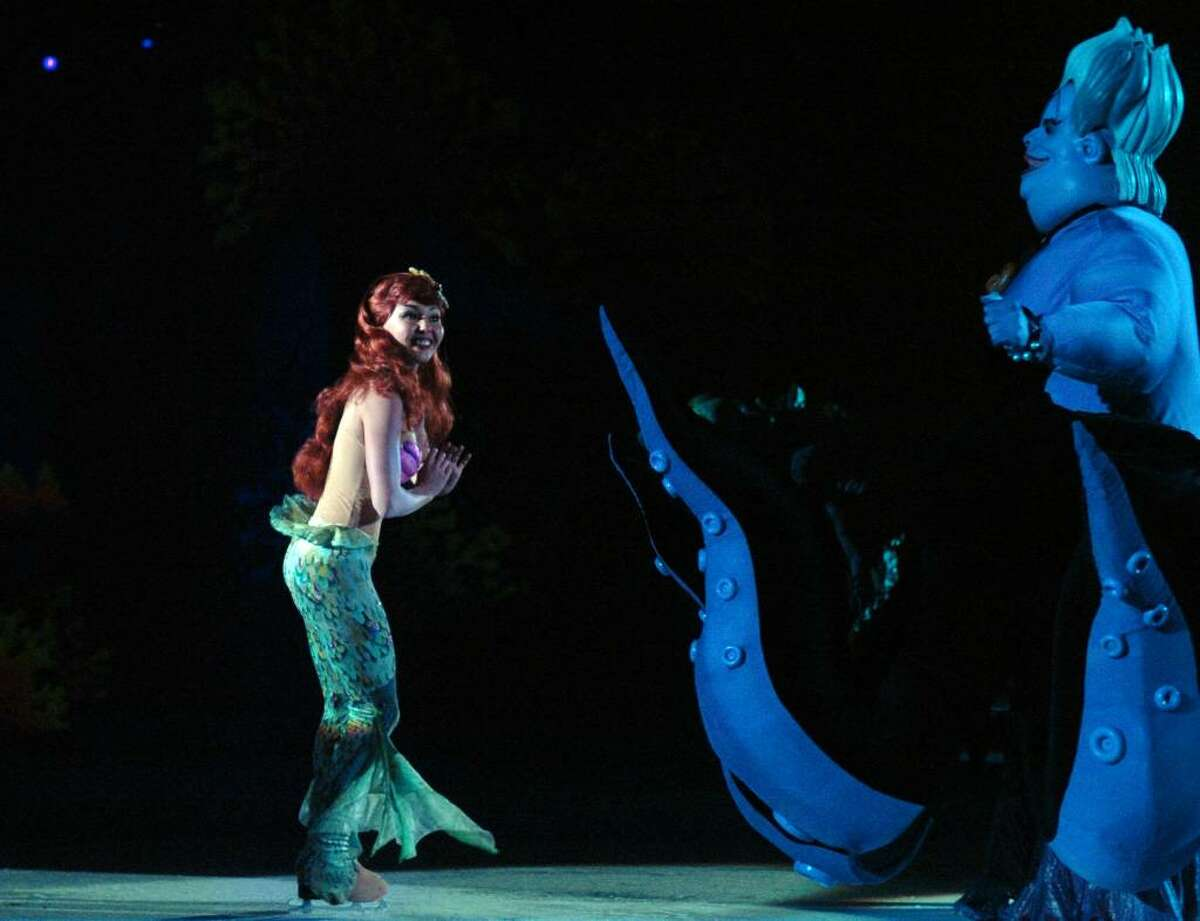 Disney on Ice Princess Classics features the story of The Little Mermaid Wednesday night at Bridgeport's Arena at Harbor Yard.