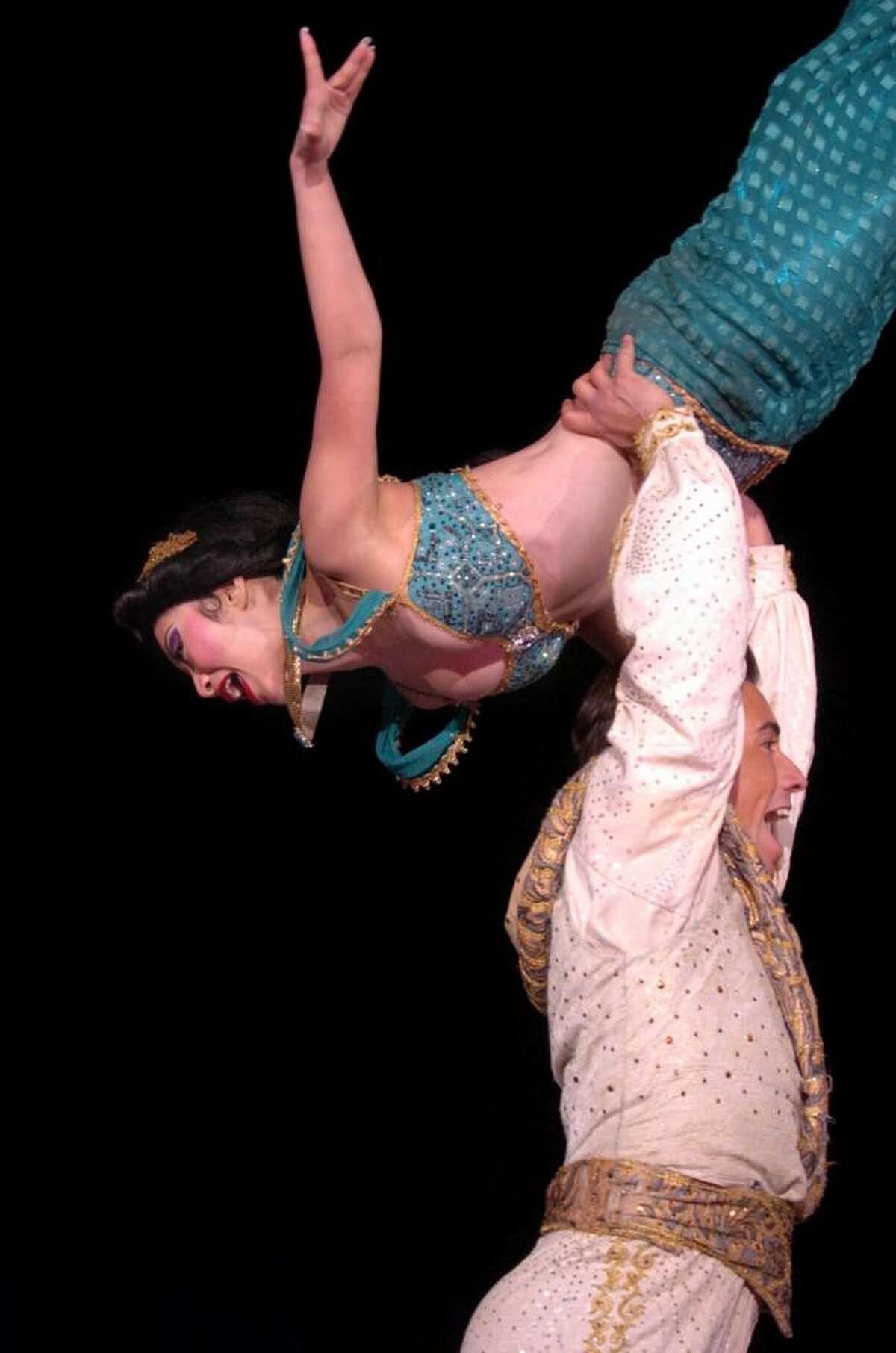 Princess Jasmine and Prince Ali, from
