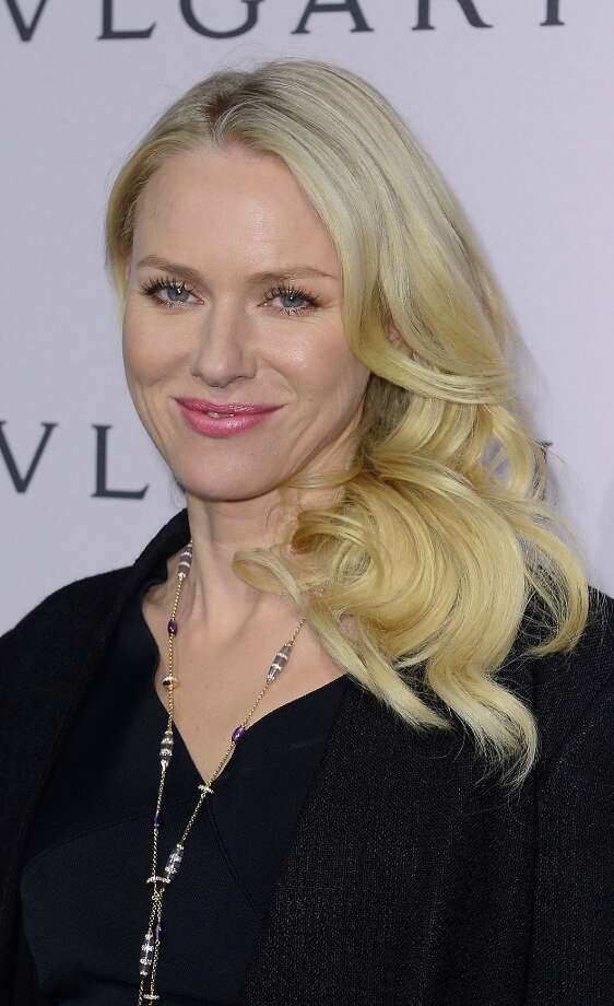 Actress Naomi Watts, wearing BVLGARI, arrives at the BVLGARI celebration of Elizabeth Taylor's collection of BVLGARI jewelry at BVLGARI Beverly Hills on February 19, 2013 in Los Angeles, California. Photo: Mark Davis, Getty Images / 2013 Getty Images
