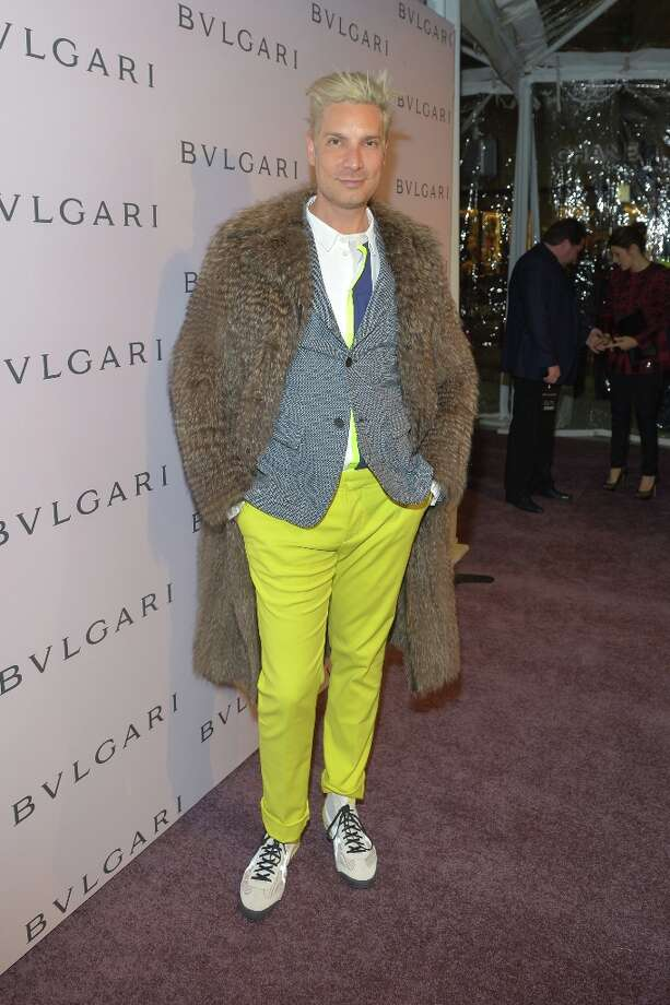 Cameron Silver arrives at the BVLGARI celebration of Elizabeth Taylor's collection of BVLGARI jewelry at BVLGARI Beverly Hills on February 19, 2013 in Los Angeles, California. Photo: Charley Gallay, Getty Images For Bulgari / 2013 Getty Images