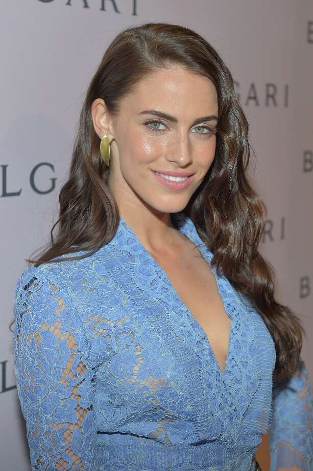 Actress Jessica Lowndes arrives at the BVLGARI celebration of Elizabeth Taylor's collection of BVLGARI jewelry at BVLGARI Beverly Hills on February 19, 2013 in Los Angeles, California. Photo: Charley Gallay, Getty Images For Bulgari / 2013 Getty Images