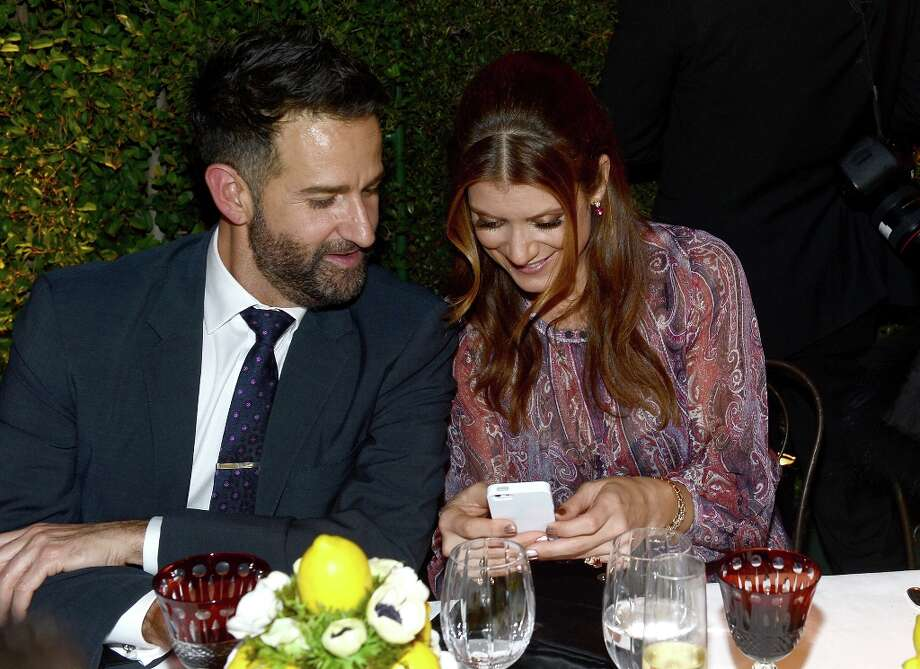 Actress Kate Walsh (R) and guest attend the BVLGARI celebration of Elizabeth Taylor's collection of BVLGARI jewelry at BVLGARI Beverly Hills on February 19, 2013 in Los Angeles, California. Photo: Michael Buckner, Getty Images For Bulgari / 2013 Getty Images