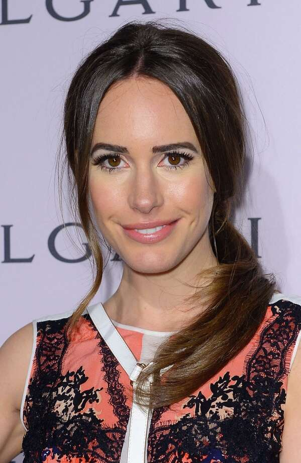 Actress Louise Roe arrives at the BVLGARI celebration of Elizabeth Taylor's collection of BVLGARI jewelry at BVLGARI Beverly Hills on February 19, 2013 in Los Angeles, California. Photo: Mark Davis, Getty Images / 2013 Getty Images