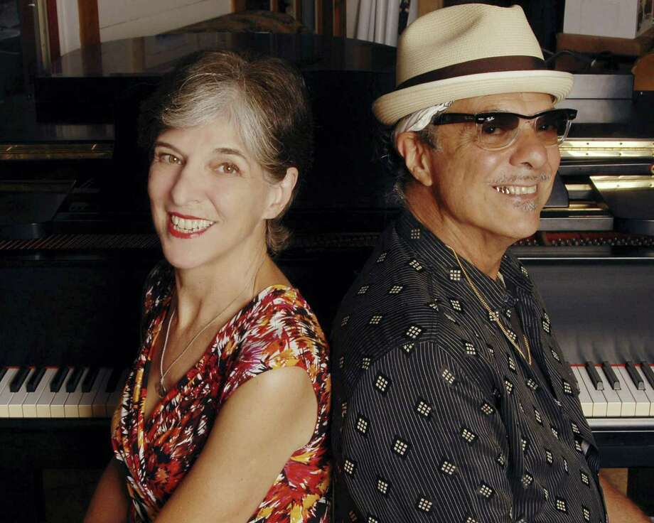 "Marcia Ball and Johnny Nicholas will team with Floyd Domino, Red Young and Danny Levin for ""Pianorama"" Saturday at Pat's Hall in Fredericksburg. Photo: Courtesy Mary Bruton"