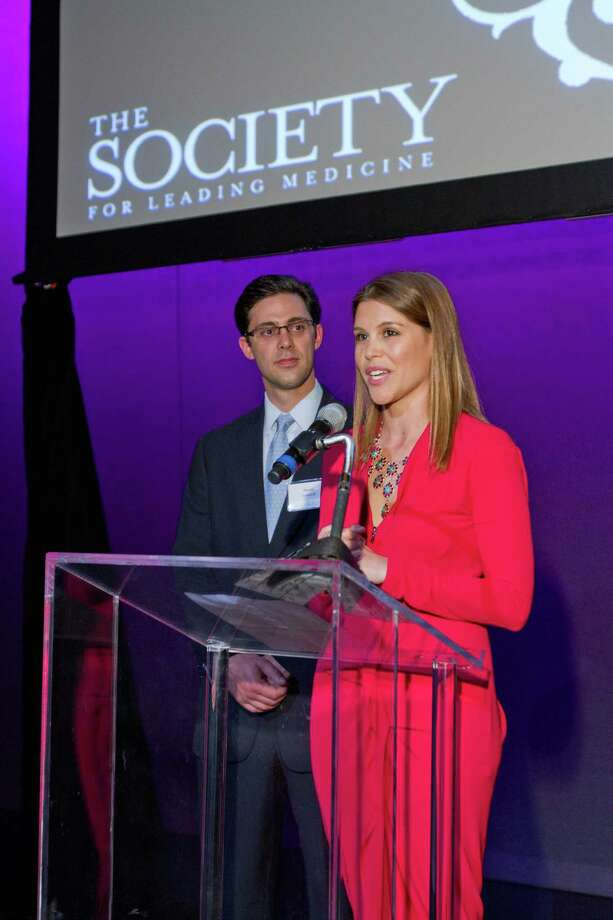 Chairs David and Estela Cockrell at The Society For Leading Medicine Launch Party, Feb. 6, 2013. Photo: Courtesy Of Methodist Hospital
