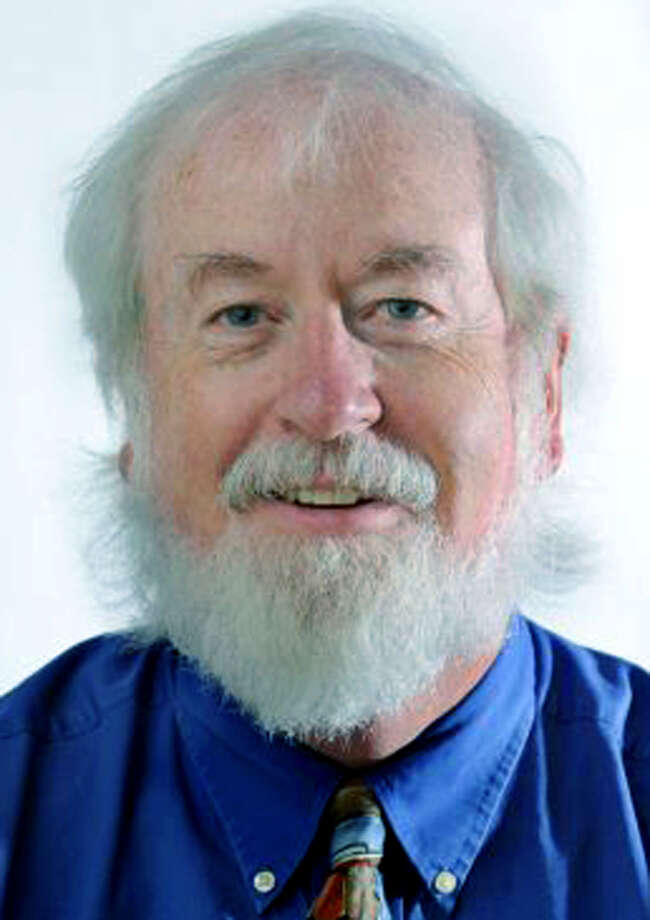 Art Cummings, Editor Emeritus of THe Greater New Milford Spectrum, for Gut Feeling column, 2013 Photo: Carol Kaliff