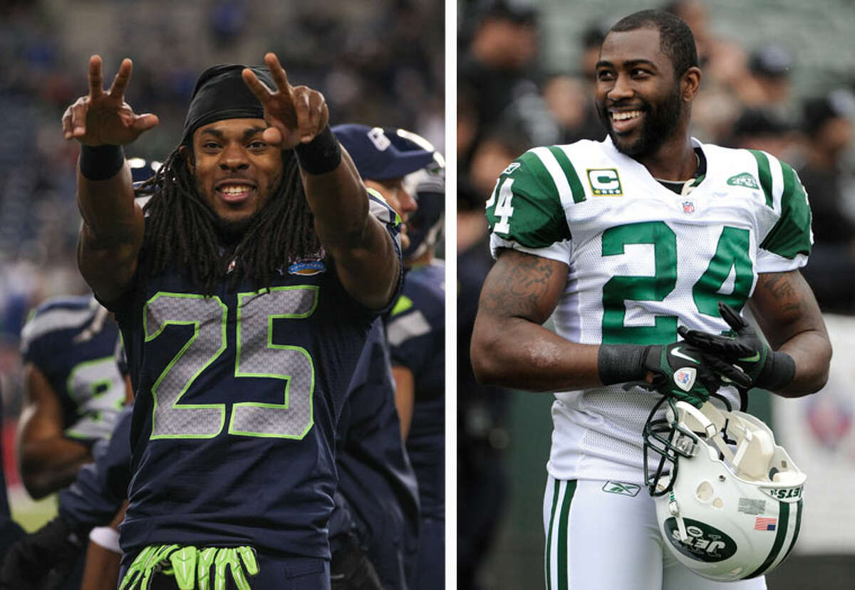 Who's number one? Sherman is the self-appointed best corner in the game, but several other contenders have challenged that assertion throughout the years. That's led to Twitter wars with Darrelle Revis (above), Patrick Peterson and DeAngelo Hall (yes, DeAngelo Hall) among others. The most common critique from his peers? The fact that, for much of his career, Sherman stayed on the left side of the field rather than trail an opponent's top receiver.