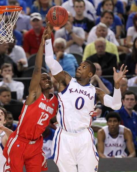 Robinson helped lead the Jayhawks to an appearance in the NCAA championship in a loss to Kentucky.