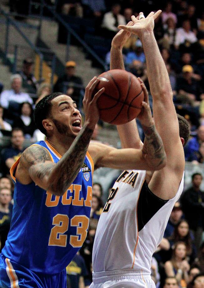 Tyler HoneycuttPosition:ForwardDraft: No. 35, Round 2 (2012) by SacramentoCollege: UCLA Photo: Ben Margot