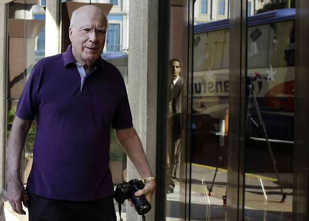 U.S. Sen. Patrick Leahy arrives to the Hotel Parque Central in Havana, Cuba, Wednesday, Feb. 20, 2013. U.S. lawmakers confirmed on Wednesday that they visited an American man whose detention and long sentence in Cuba has hampered efforts to improve ties between the countries, but they gave no details on his condition or what was said. The seven-member delegation led by Leahy also met with Cuban President Raul Castro and other senior officials. (AP Photo/Franklin Reyes) Photo: Franklin Reyes, Associated Press