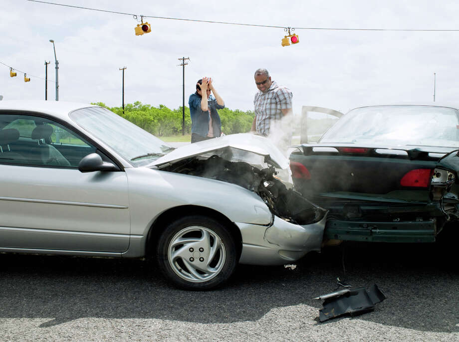 "This question was previously answered by State Patrol Trooper Keith Trowbridge: ""No, that is not always the case in a rear-end collision. Many circumstances affect the decision to cite a driver in a collision. The State Patrol looks at the totality of the circumstances when deciding to cite drivers. That being said, generally most people who rear-end other vehicles are found to be at fault and cited. Here are a couple of examples of collisions where drivers probably would not be cited: When someone makes an unsafe lane change in front of your vehicle and brakes at the same time, causing you to rear-end the vehicle that cut you off; or when your vehicle is stopped for traffic and rear-ended by another vehicle, causing your vehicle to strike the vehicle in front of you. Photo: Yellowdog Productions/Getty Images"