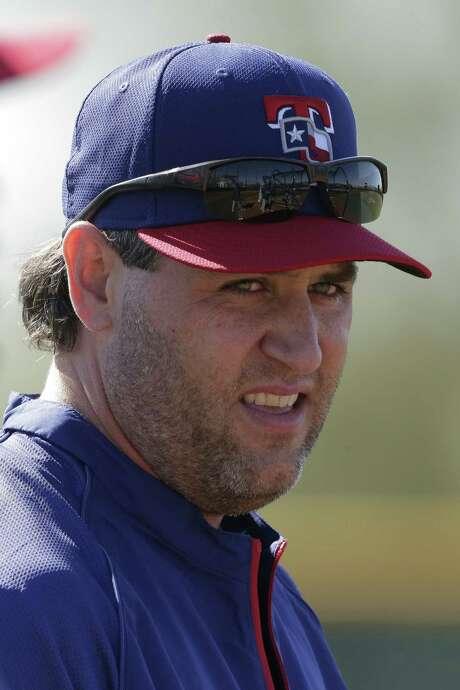 The Rangers' Lance Berkman, 37, has a right calf strain.