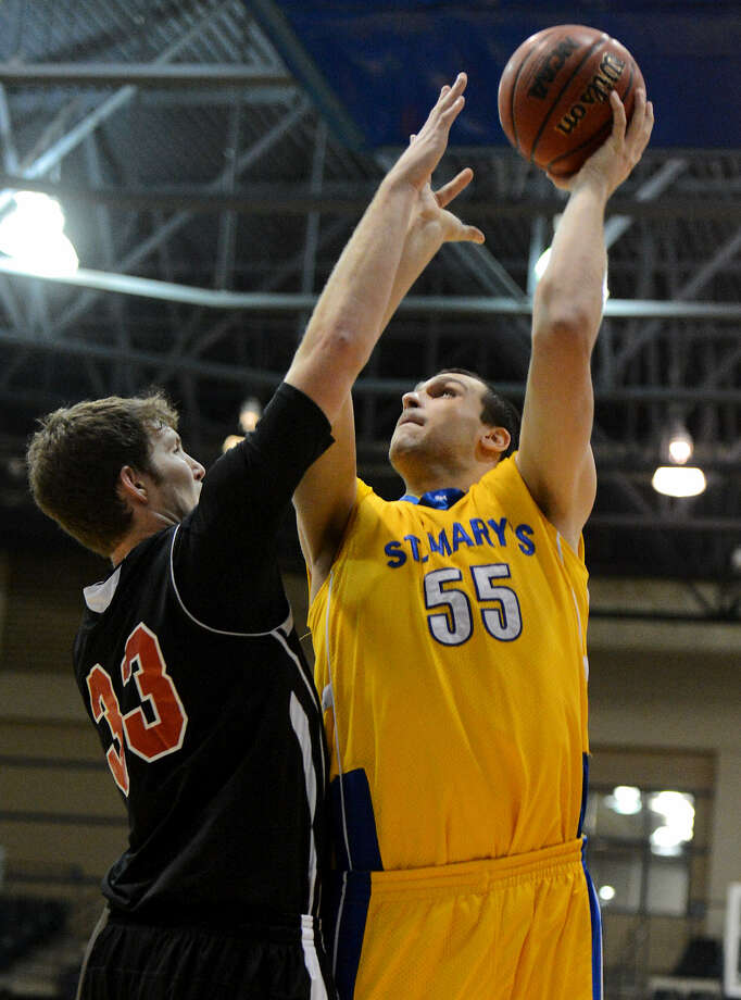 St. Mary's Kevin Kotzur is a three-time All-Heartland Conference selection after a standout career at La Vernia. Photo: John Albright / For The Express-News