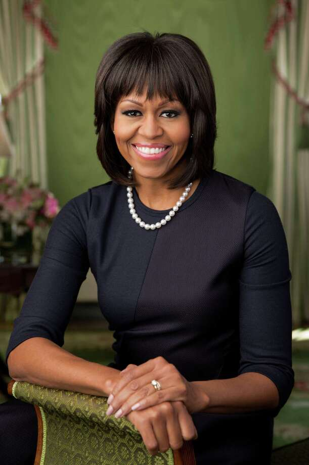Michelle Obama's new official photograph. Photo: The White House, Getty Images / 2013 The White House