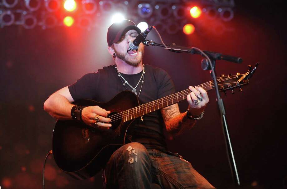Brantley Gilbert looks like a rocker but plays country. Photo: Courtesy Photo